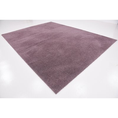 Taelyn Mauve Area Rug Rug Size: 9 x 12