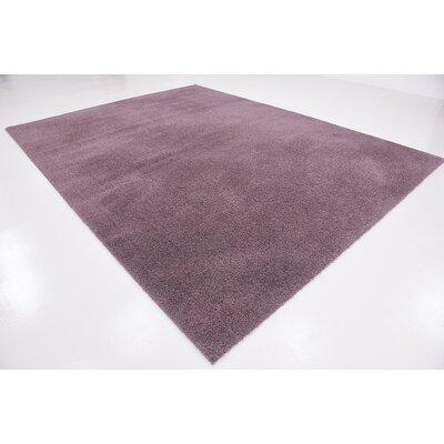 Taelyn Mauve Area Rug Rug Size: 8 x 10