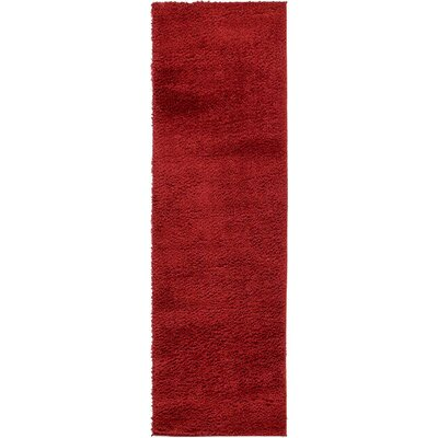 Verna Red Area Rug Rug Size: Runner 2' x 6'7