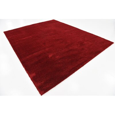 Verna Red Area Rug Rug Size: Rectangle 8 x 10