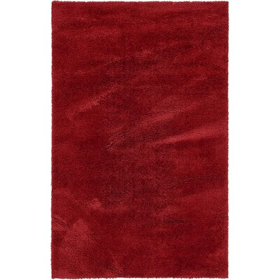 Verna Red Area Rug Rug Size: 5 x 8