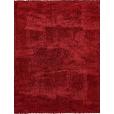 Verna Red Area Rug Rug Size: 9 x 12
