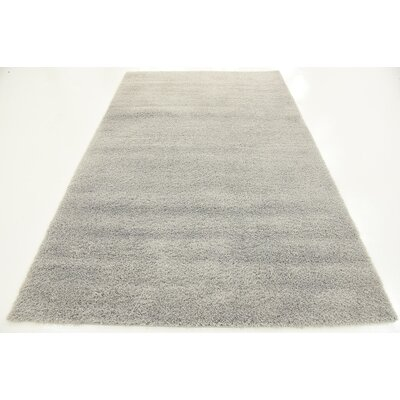 Tanisha Light Gray Area Rug Rug Size: 5 x 8