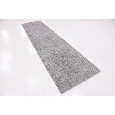 Tanisha Light Gray Area Rug Rug Size: Runner 27 x 10