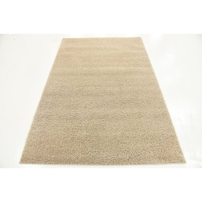Woodrow Taupe Area Rug Rug Size: 4 x 6