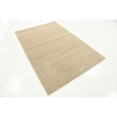 Woodrow Taupe Area Rug Rug Size: Rectangle 4 x 6