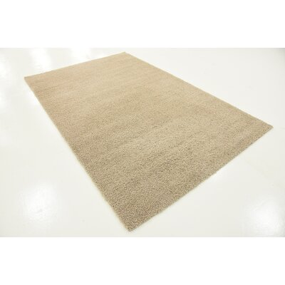 Woodrow Taupe Area Rug Rug Size: 5 x 8