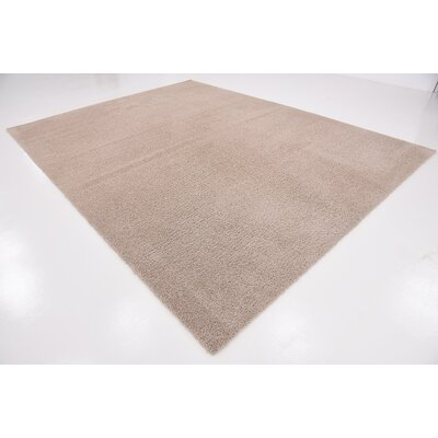 Woodrow Taupe Area Rug Rug Size: 9 x 12