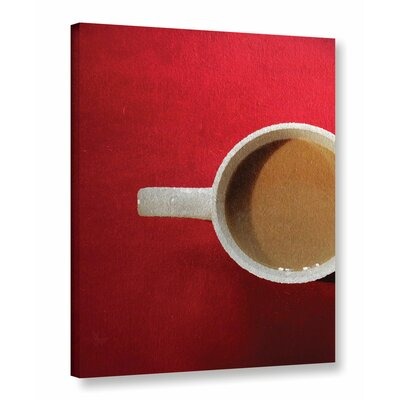'Cafe Rojo' Graphic Art on Wrapped Canvas Size: 10