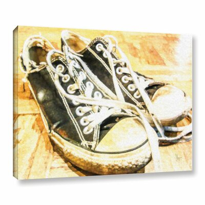 'Chucks' Graphic Art on Wrapped Canvas Size: 14