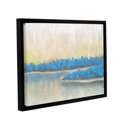 'A New Adventure 2' Framed Painting Print on Wrapped Canvas Size: 14