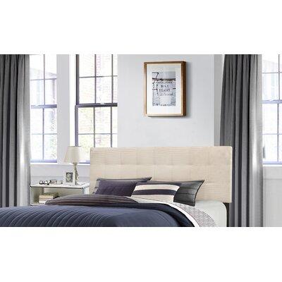 Decker Upholstered Panel Headboard Size: King, Upholstery: Linen