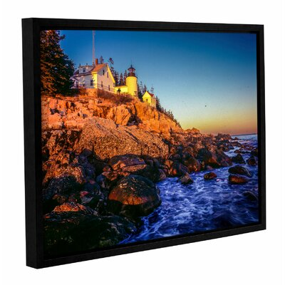 'Acadia 1' Framed Photographic Print Size: 14