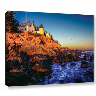 'Acadia 1' Photographic Print on Wrapped Canvas Size: 14