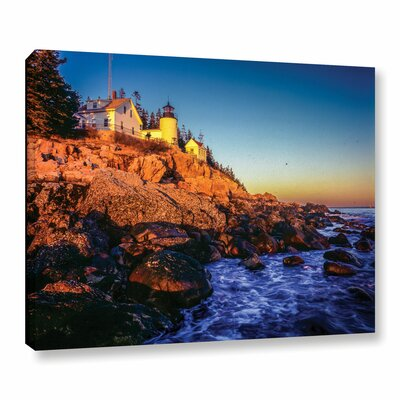 'Acadia 1' Photographic Print on Wrapped Canvas Size: 8