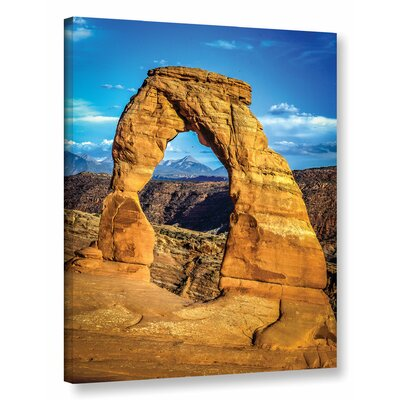 'Arches' Photographic Print on Wrapped Canvas Size: 18