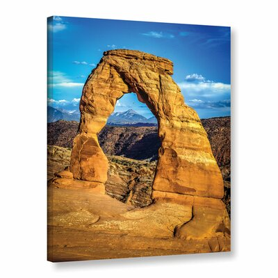 'Arches' Photographic Print on Wrapped Canvas Size: 10
