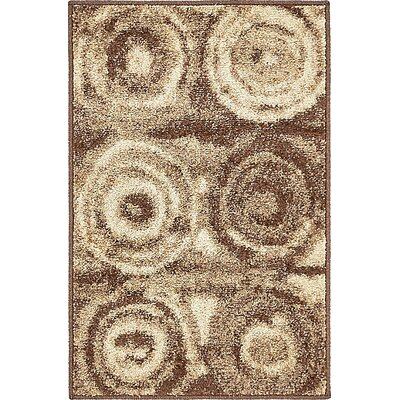 Christie Tan Area Rug Rug Size: 9 x 12