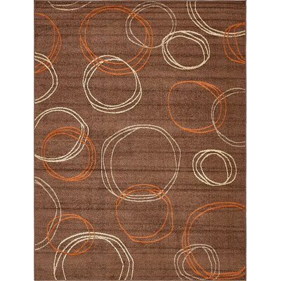 Christie Brown Area Rug Rug Size: 9 x 12