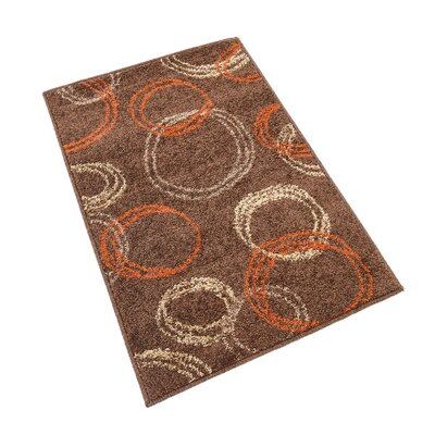 Christie Brown Area Rug Rug Size: 8 x 8