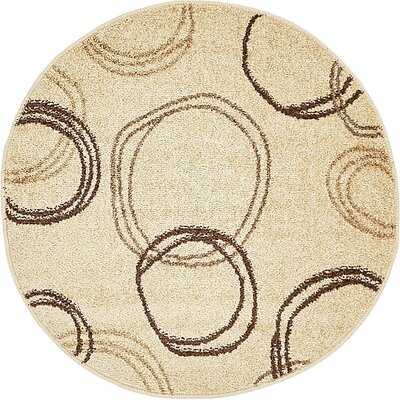 Bryan Beige Area Rug Rug Size: Rectangle 9 x 12