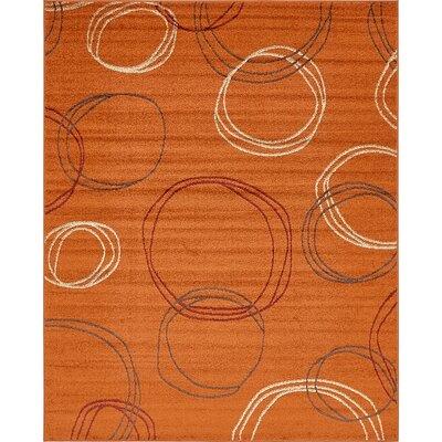 Lilla Terracotta Area Rug Rug Size: 8 x 10