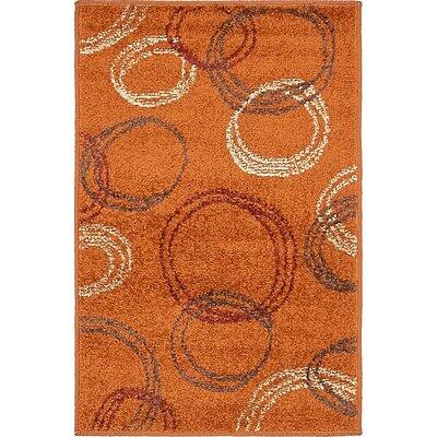 Christie Terracotta Area Rug Rug Size: 2 x 3