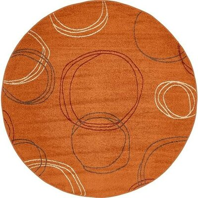 Lilla Terracotta Area Rug Rug Size: Rectangle 8 x 10