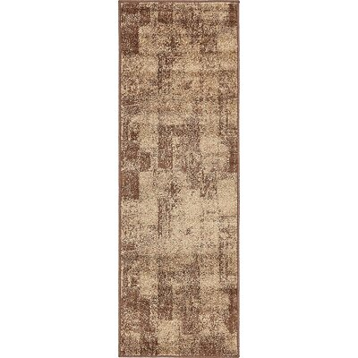 Christie Brown Area Rug Rug Size: Runner 2 x 6