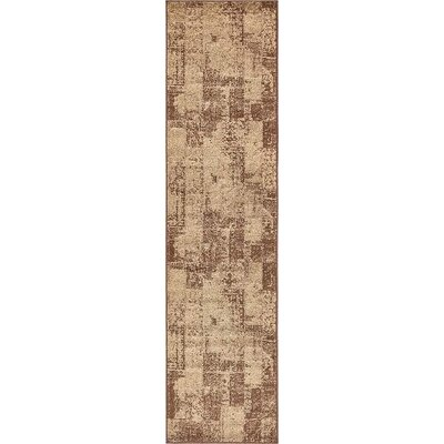 Christie Brown Area Rug Rug Size: Runner 26 x 10