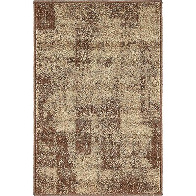 Christie Brown Area Rug Rug Size: 2 x 3