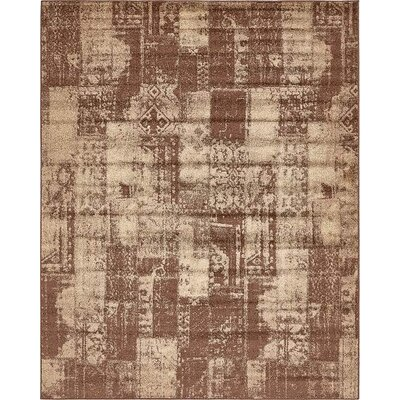 Christie Brown Area Rug Rug Size: 8 x 10