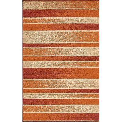 Bryan Rust Red Area Rug Rug Size: Rectangle 5 x 8