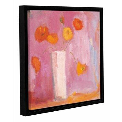 'Mandarin Poppies' Framed Painting Print Size: 10