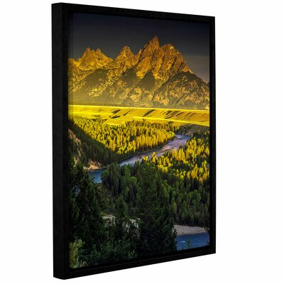 'Grand Tetons' Framed Photographic Print Size: 10