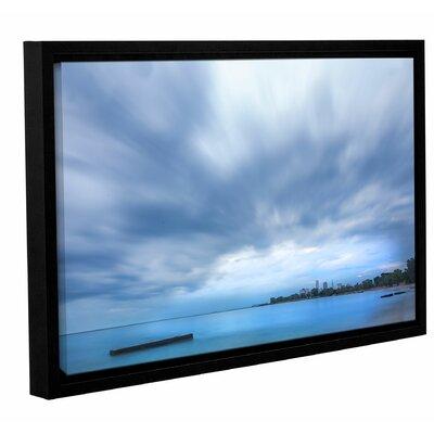 'Cleveland Sky' Framed Photographic Print Size: 12