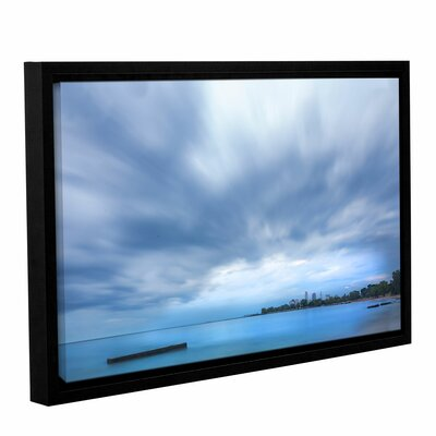 'Cleveland Sky' Framed Photographic Print Size: 8