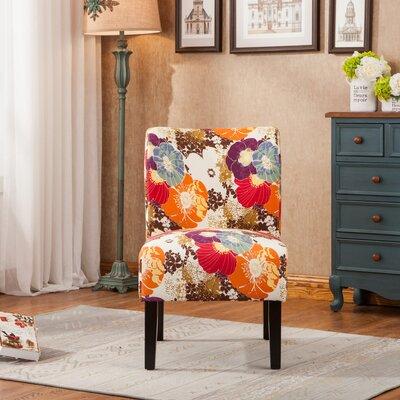 Weymand Floral Slipper Chair