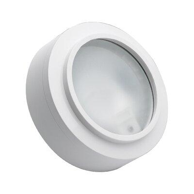 Cheryll 3-Light Metal Flush Mount Finish: White