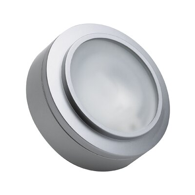 Cheryll 3-Light Metal Flush Mount Finish: Stainless Steel