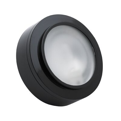 Cheryll 3-Light Metal Flush Mount Finish: Black