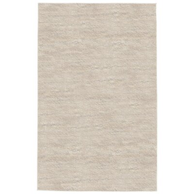Deray Plain Beige Indoor/Outdoor Area Rug Rug Size: 111 x 211