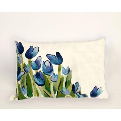 Zorski Allover Tulips Lumbar Pillow