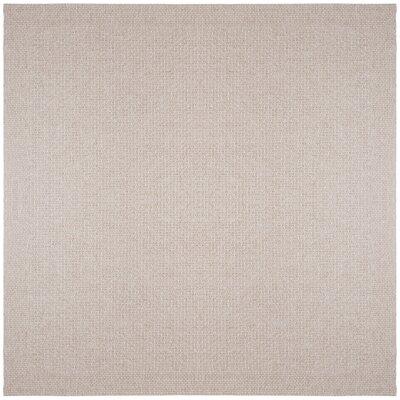 Felipe Cream Indoor/Outdoor Area Rug Rug size: Square 76