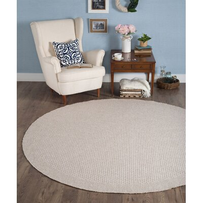 Felipe Cream Indoor/Outdoor Area Rug Rug size: Round 76
