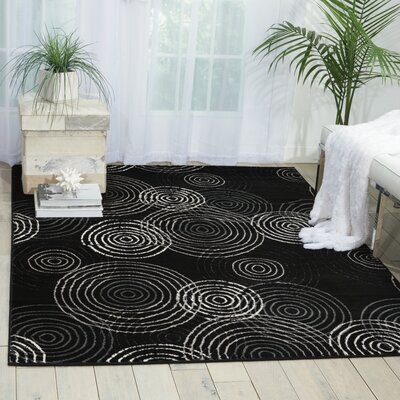 Densmore Black Area Rug Rug Size: Rectangle 311 x 53