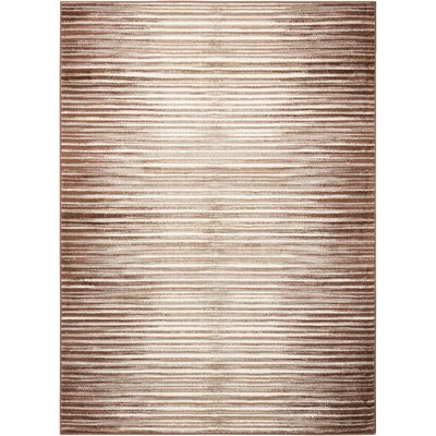 Densmore Mocha Area Rug Rug Size: Rectangle 311 x 53