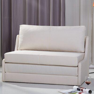 Sabine Sleeper Loveseat Upholstery: Beige