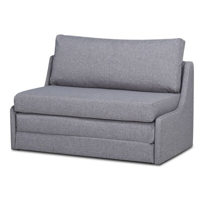 Sabine Sleeper Loveseat Upholstery: Ash