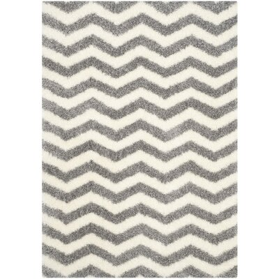 Kimberley Gray/Beige Area Rug Rug Size: Rectangle 53 x 76